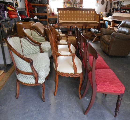 LADD UPHOLSTERY DESIGNS WORK ROOM